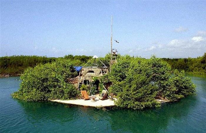 Искусственный остров Спиральный.