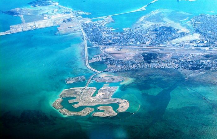 Искусственные острова Амвадж.