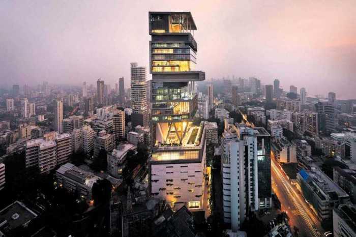 Частный особняк-небоскреб стоимостью более миллиарда долларов.