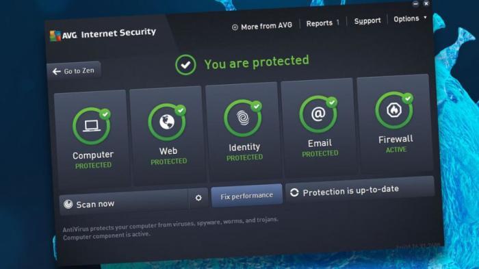 AVG Internet Security - лучшая защита от троянов и шпионов.