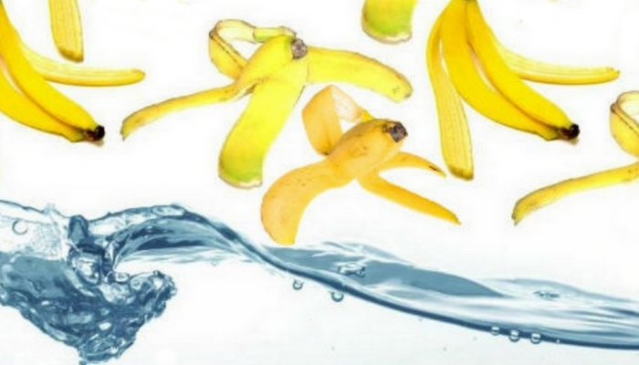 Банановая кожура поможет с удалением заноз.