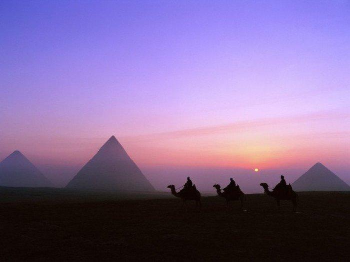Пирамиды и пиво.