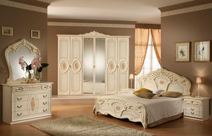 Доступная роскошь спальни.