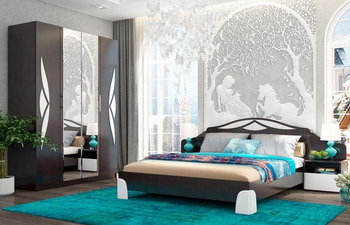Современная спальня.