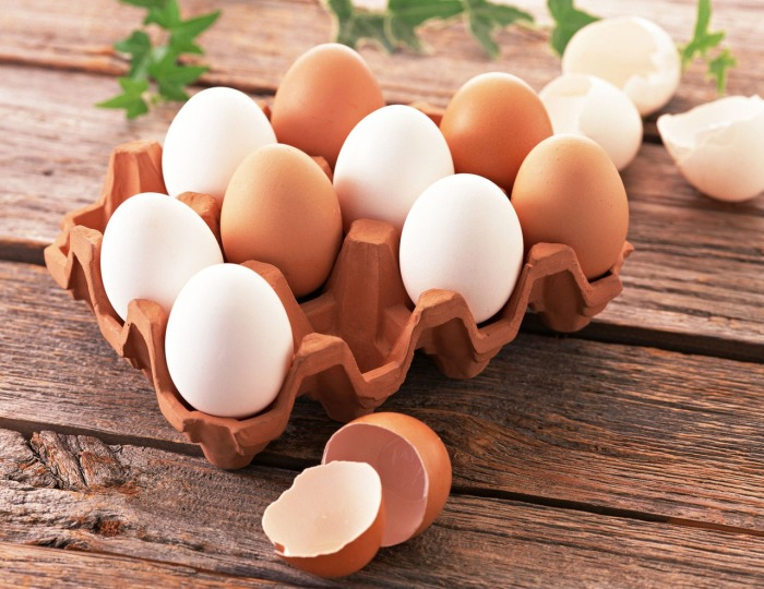 Яйца - продукт диетический и полезный.