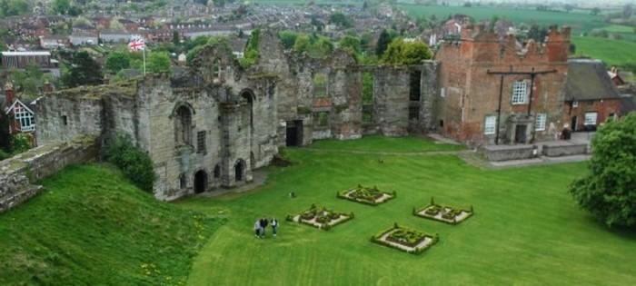 Замок Татбери - роскошное место для свадьбы.