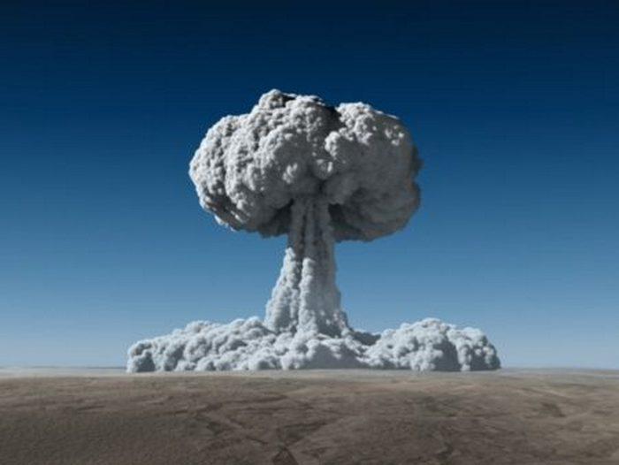 Так выглядит подземный взрыв.
