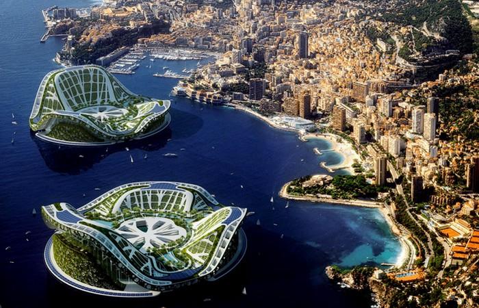 Проект экополиса «Lilypad» в Монако.