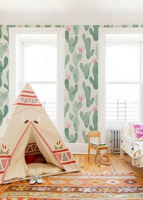 Стилизованная детская комната обязательно понравится малышу.
