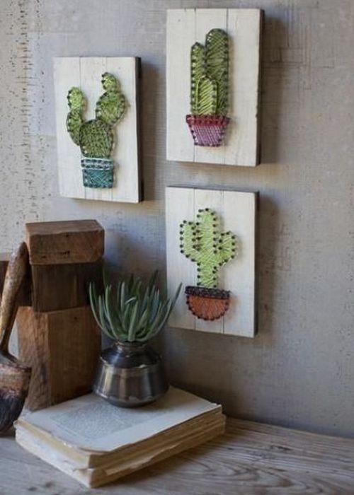 Гвозди, нитки, кактусы