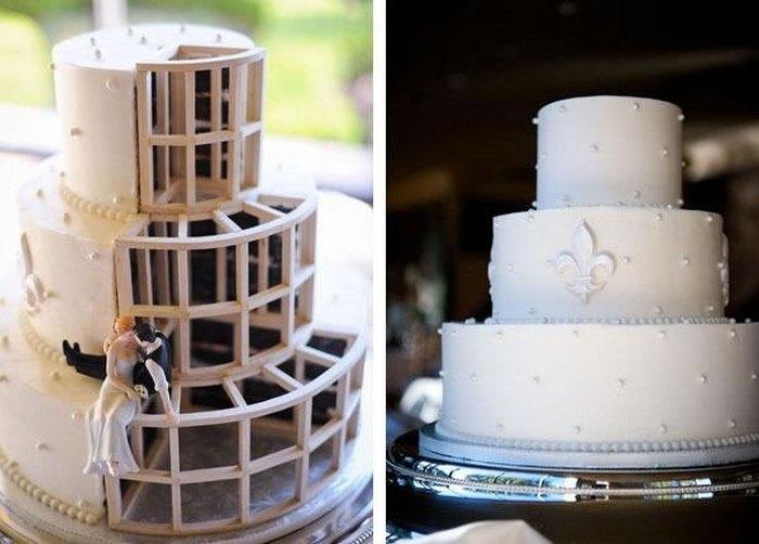 Свадебный торт для инженеров