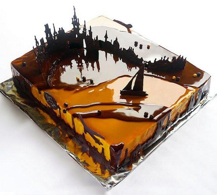 Торт как искусство.