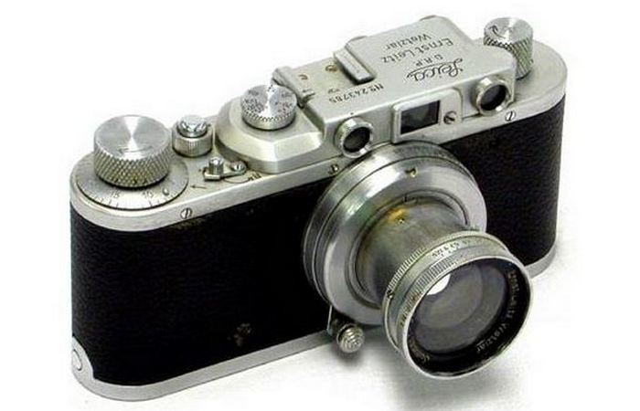Замаскированный под Leica II «D» дробовик.