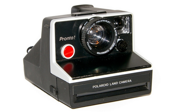 Камера Polaroid.