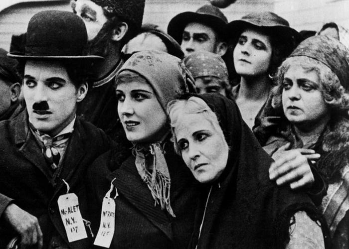 Кадр из фильма «Иммигрант» (1917 год).