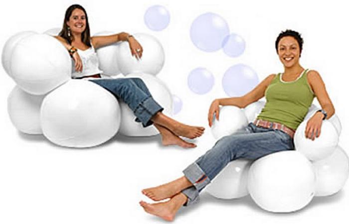 Кресло-мешок «Bubble».