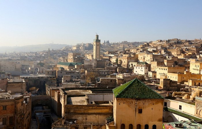 Второй по величине город в Марокко Фес.