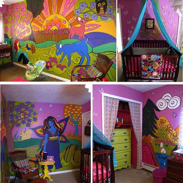 Комната для юной Кассандры.