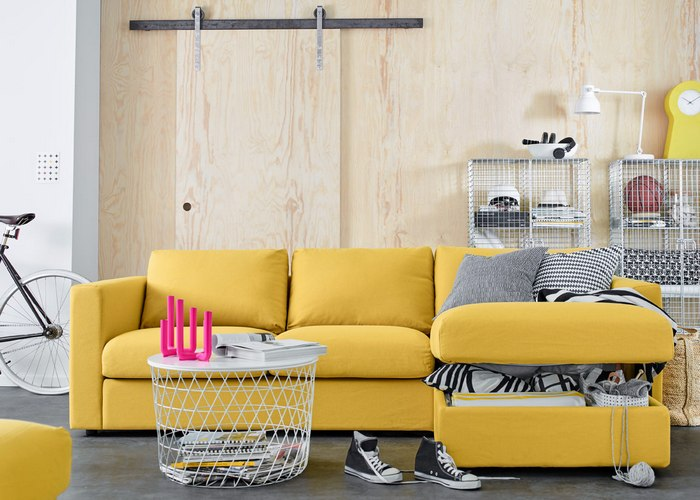 Модульный диван «Vimle Ikea».