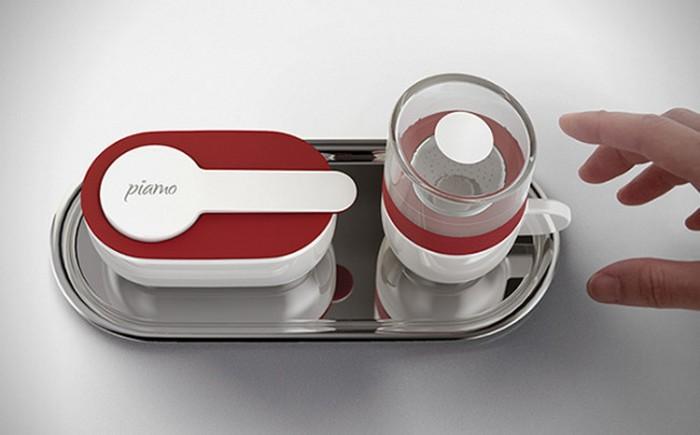 Piamo: микроволновая печь, кофеварка