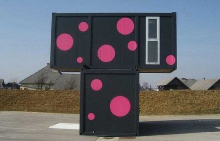 Дом из контейнеров: «2+ Weekend House».