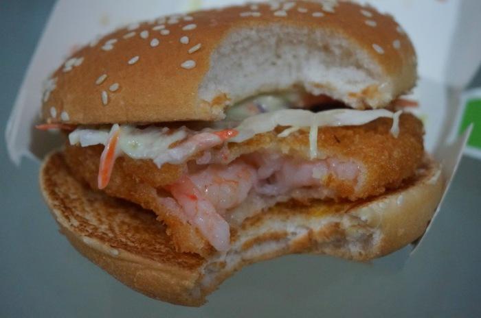 Эби Филе-O - гамбургер по-японски.