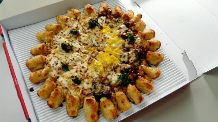 Винтер Дабл Кинг - супер пицца.