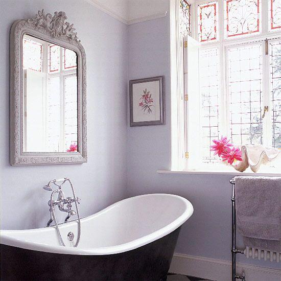 Сиреневая ванная - полный релакс.