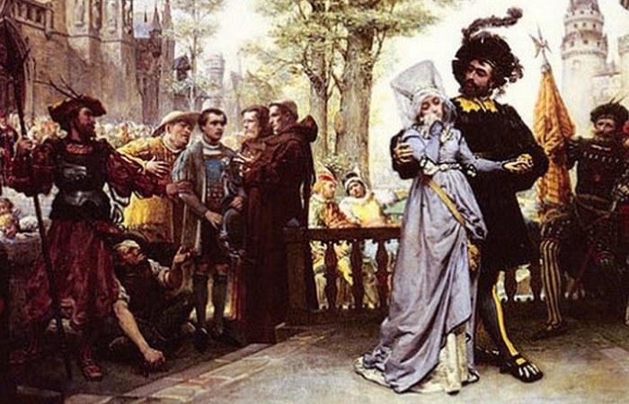 Право лорда = право первой брачной ночи.