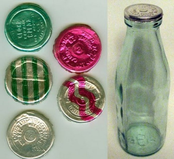 Сделано в СССР: бутылка для кефира