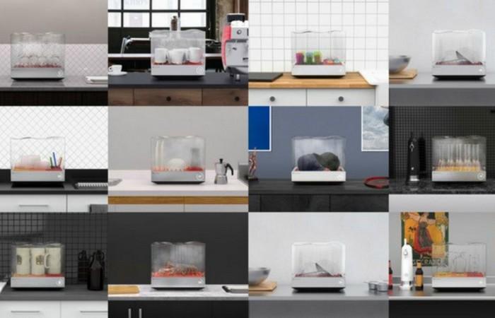 Посудомоечная машина «Tetra».
