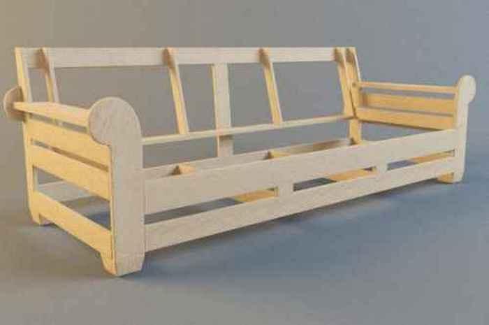 Диванная рама - залог долговечности мебели.