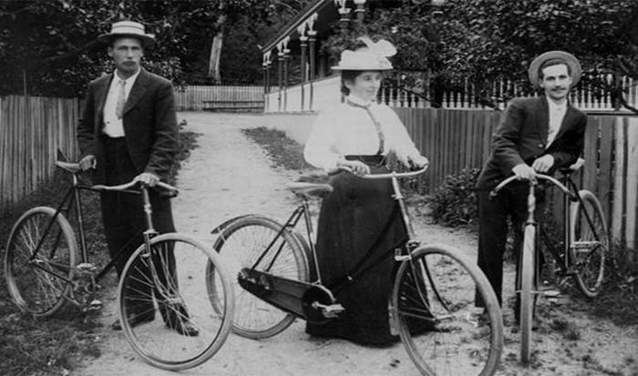 Мощеные дороги для велосипедистов.