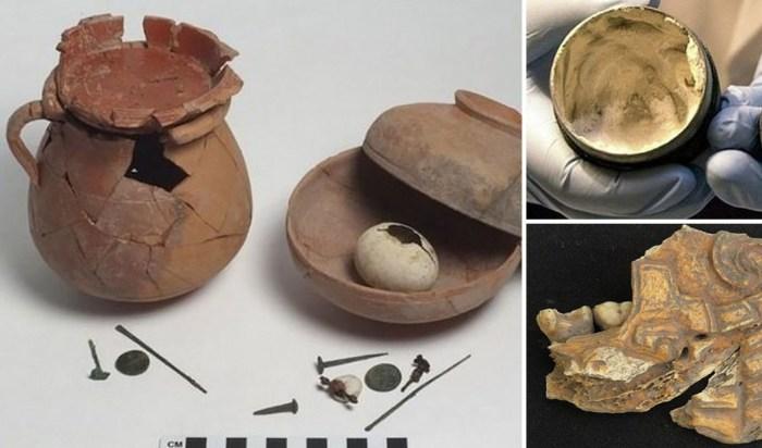 Древние артефакты из повседневной жизни наших предков.