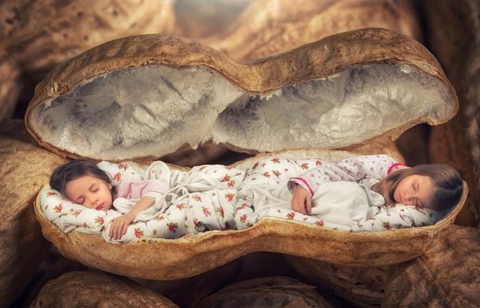 Сладкий крепкий сон.