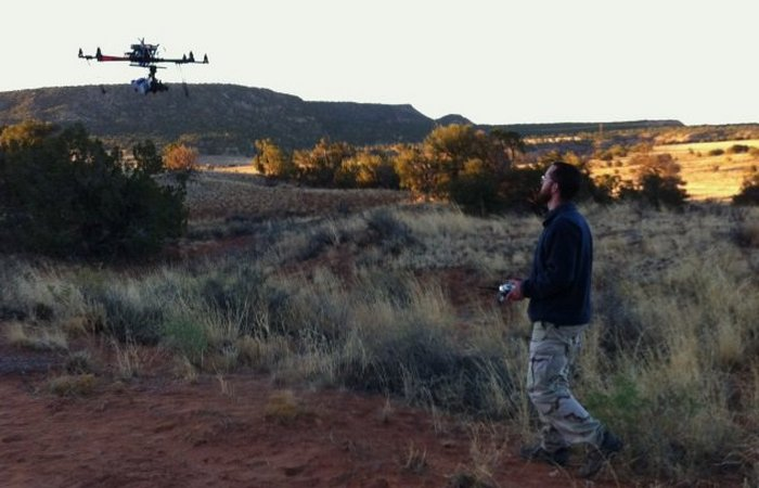 Обнаруженная с помощью дрона деревня Блю Джей.