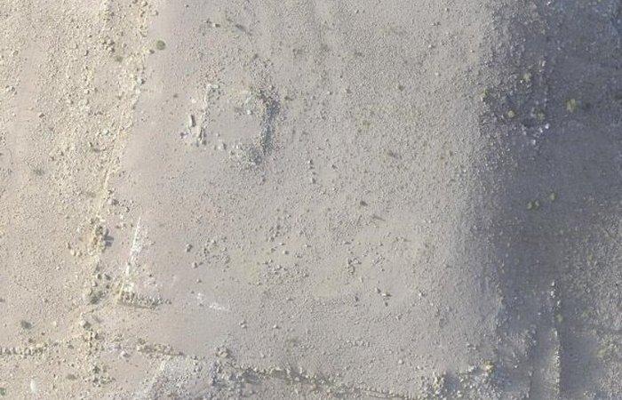 Обнаруженная с помощью дрона скрытая платформа в Петре.