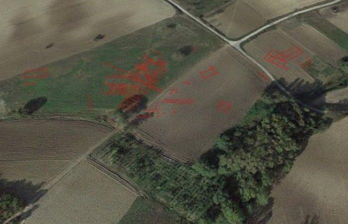 Обнаруженные с помощью дрона следы самнитов в долине Таппино.