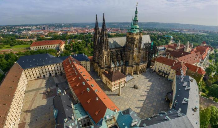 Пражский Град, Прага, Чехия.