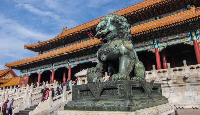 Запретный город, Пекин, Китай.