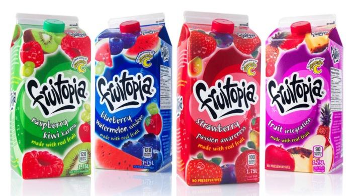 Fruitopia - напиток, который так любят канадцы.