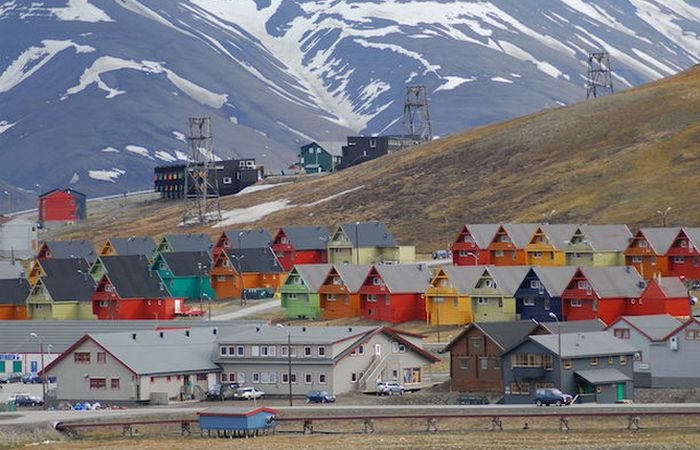 Гостеприимный Шпицберген (Норвегия).