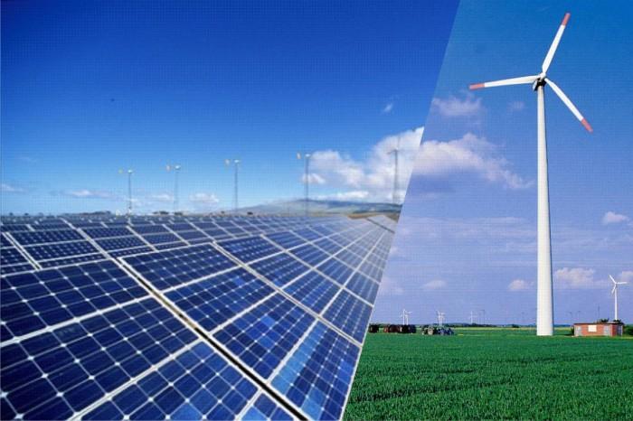 Солнце и ветер на службе энергетики.