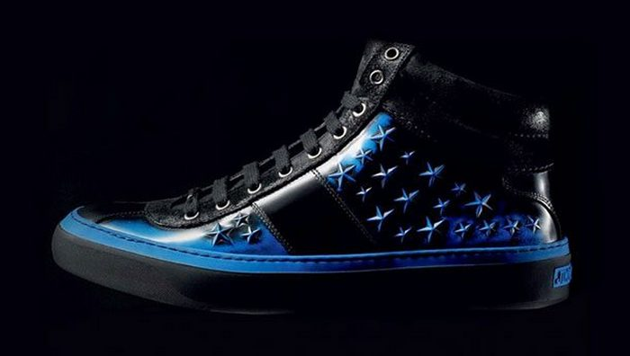 Кроссовки Jimmy Choo Belgravia High Tops & Star Studded.
