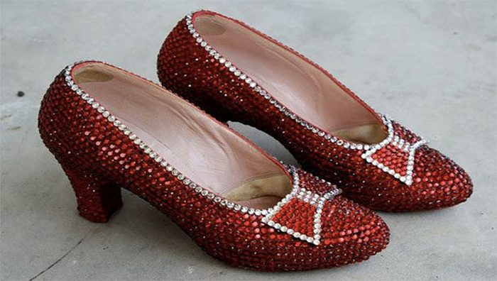 Туфли Harry Winston Ruby Slippers.