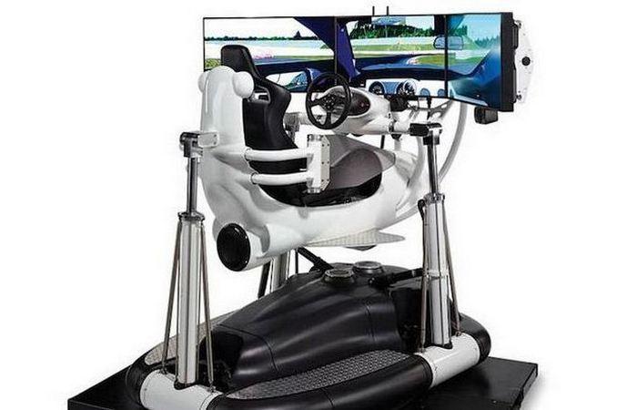 Безумно дорогая игрушка: реалистичный симулятор вождения «MRDS-1».