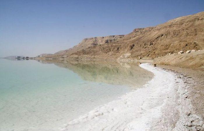Экстремальное место: Мертвое море.