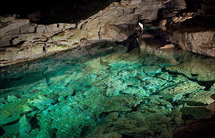 Экстремальное место: пещера Крубера.