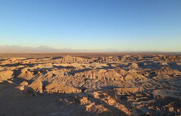 Экстремальное место: пустыня Атакама.