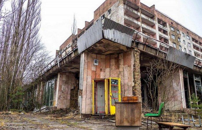 Экстремальное место: город-призрак Чернобыль.